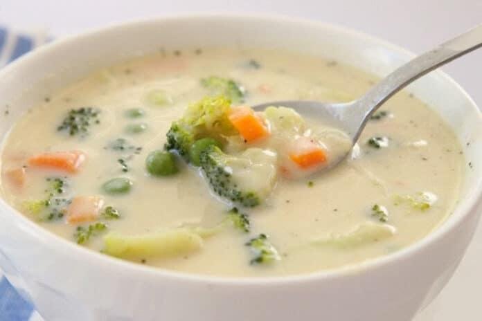 Soupe de légumes W Watchers