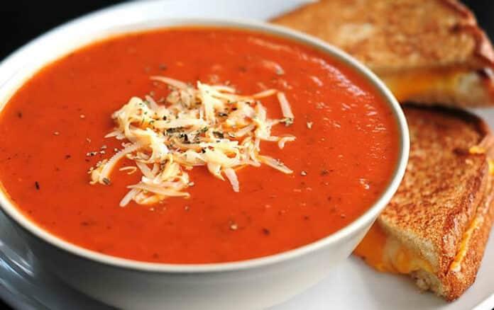Soupe de tomates W Watchers