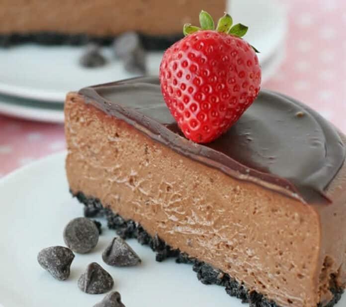 Cheesecake chocolat facile