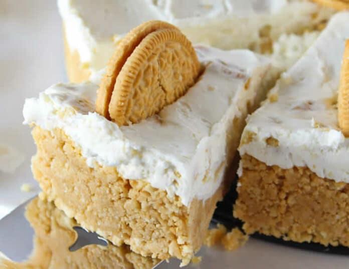 Cheesecake oreo et fromage à la crème