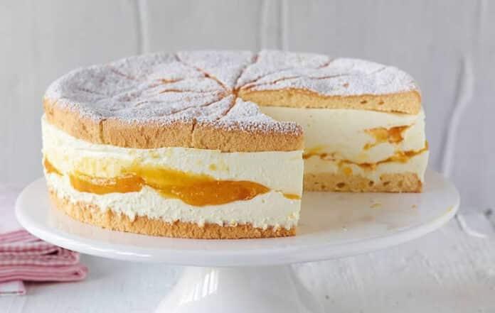 Gâteau mangue à la crème au thermomix
