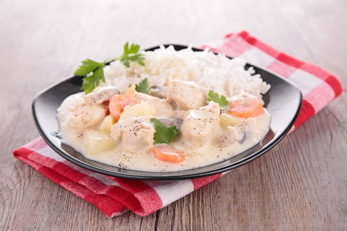 Blanquette de lotte aux carottes et pommes de terre au cookeo