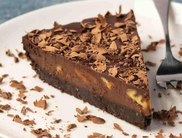 Tarte chocolat facile au pécan