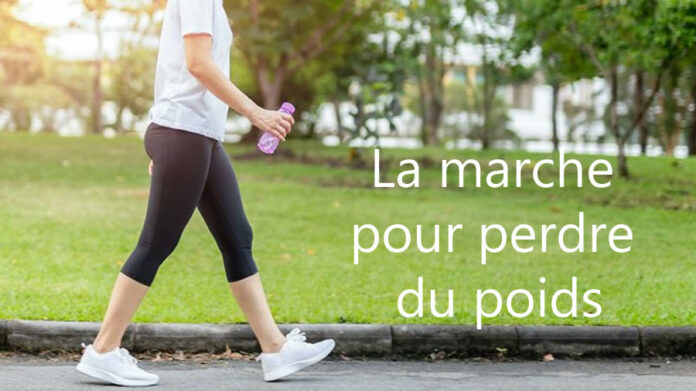 La marche pour perdre du poids