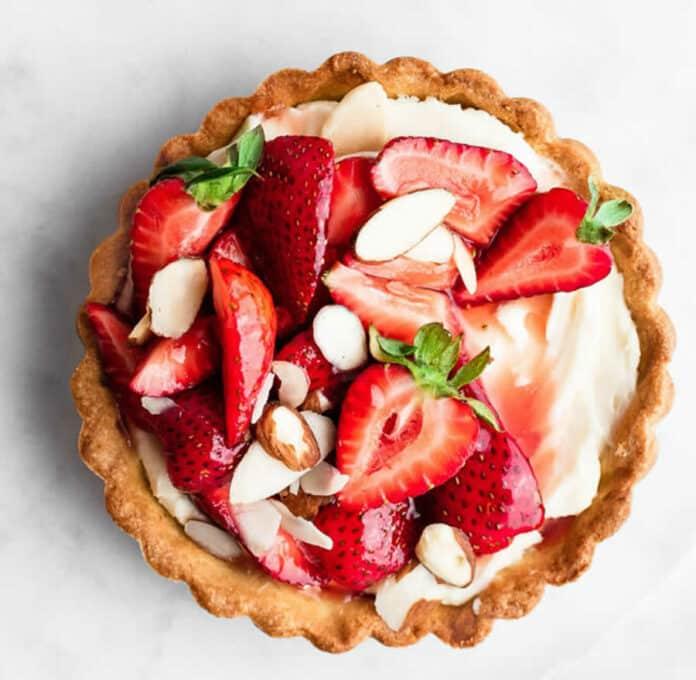 Mini tarte aux fraises facile