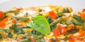 Pizza au saumon et asperges