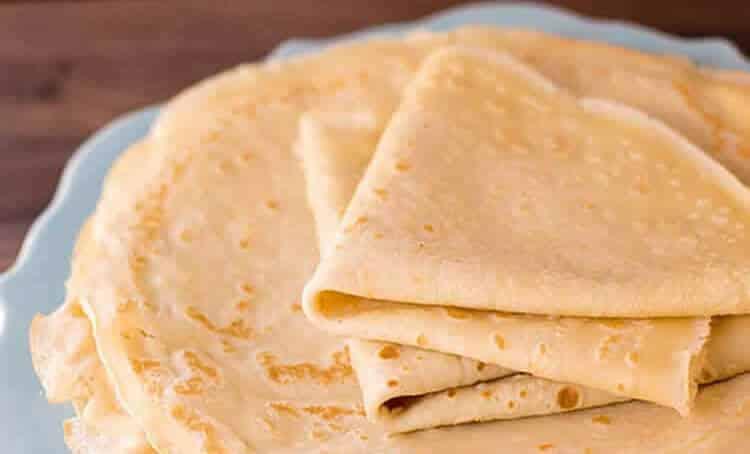Recette pâte à crêpes salée