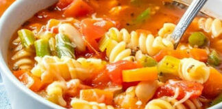Soupe minestrone facile