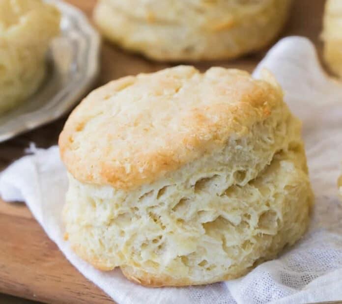 Biscuit léger et aéré