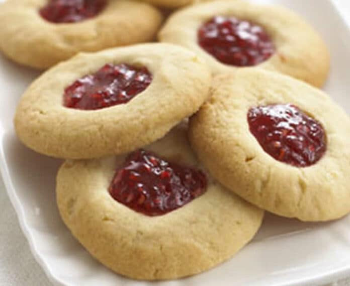 Petits biscuits à la confiture