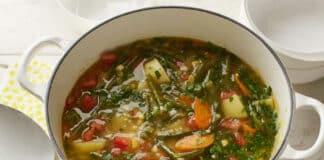 Soupe de légumes traditionnelle