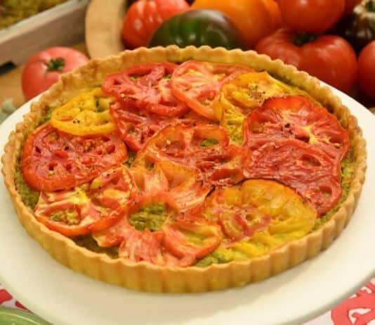 Tarte à la tomate facile