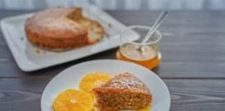 Cake aux amandes et carottes