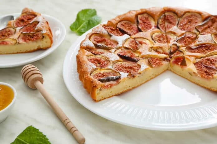 Cake moelleux aux figues