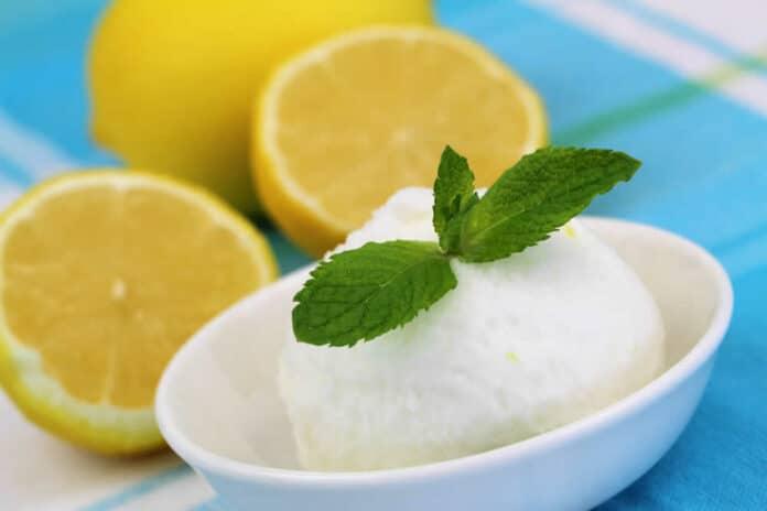 Comment faire un sorbet au citron