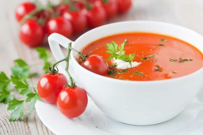 Gaspacho express tomate