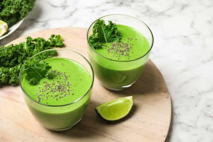 Smoothie de chou kale