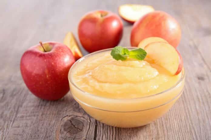 Compote de pommes express au thermomix