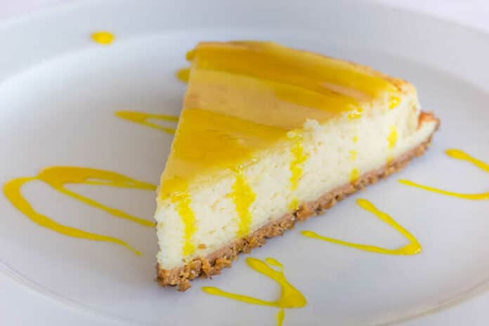 Dessert cheesecake au citron au thermomix