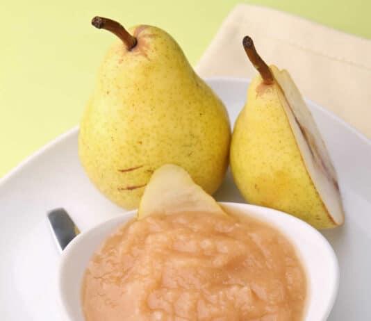 Compote de poires vanillée