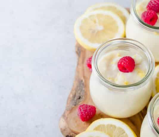 Crème dessert au citron facile