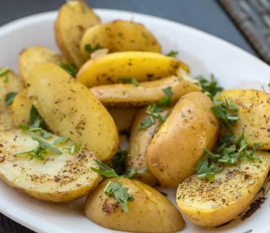 Pommes de terre vapeur au thermomix