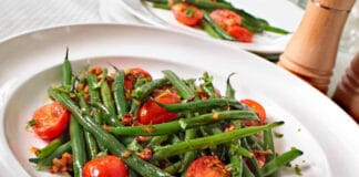 Salade haricots verts au thermomix