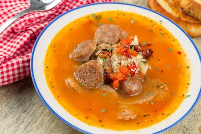 Saucisse de Toulouse et oignons au cookeo