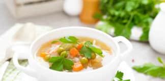 Soupe aux 5 légumes au thermomix